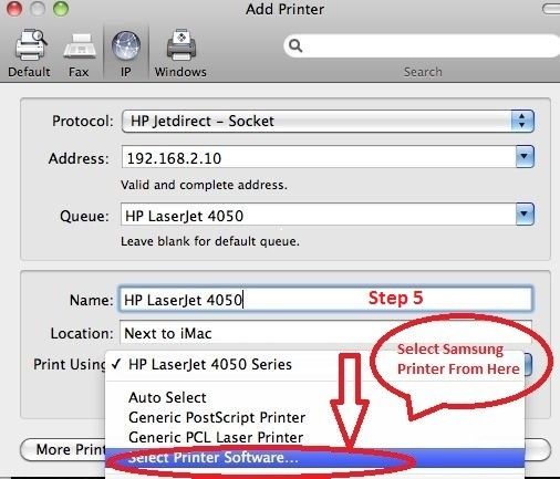 How to Connect Samsung Printer to WiFi on MAC   Printer