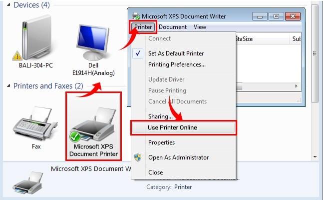 How do You Get a Lexmark Printer Back Online | Printer