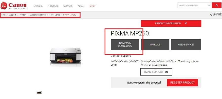 How Can I Install Canon Printer Pixma MP250 Without the CD
