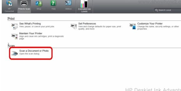 How do You Scan Images on an HP 1515 Printer | Printer Technical Support