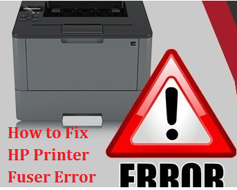 How do I Fix My HP Printer Fuser Error   Printer Technical Support