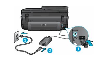 hp printer not turning on