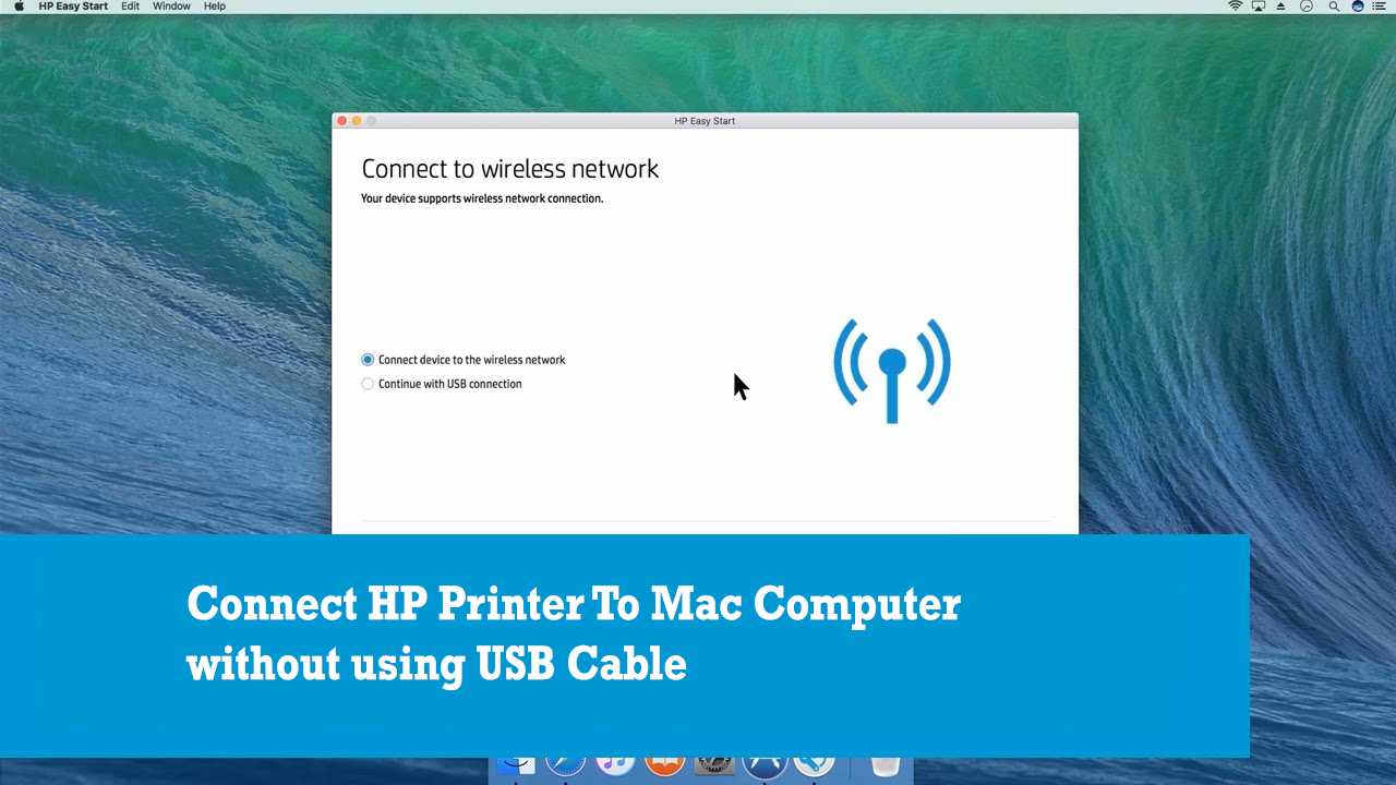 How to Connect HP Printer to Mac Without CD | Printer Technical Support