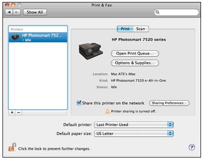 hp photosmart scan software mac 10.7
