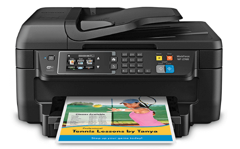 Manual Multiple Page Document Scanning on Epson WF 2760