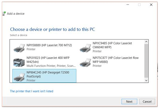 How to Install the HP Designjet Printer Driver Windows 10