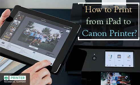 Print from iPad to Canon Printer