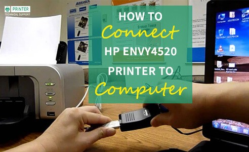 Connect HP Envy 4520 Printer to Computer