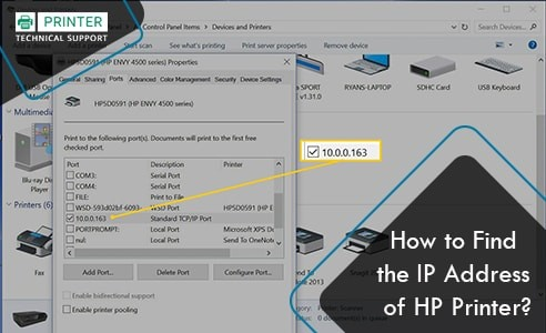Find the IP Address of HP Printer min
