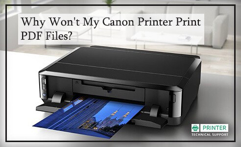 Canon Printer Print pdf