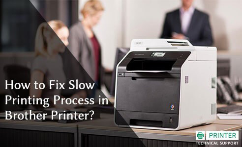 Fix Slow Printing Process in Brother Printer
