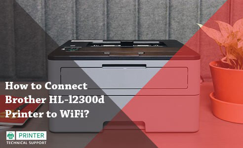 Connect Brother HL-l2300d Printer to WiFi