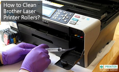 Clean Brother Laser Printer Rollers