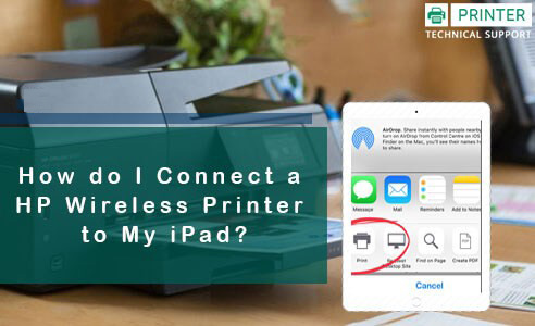 Connect a HP Wireless Printer to My iPad