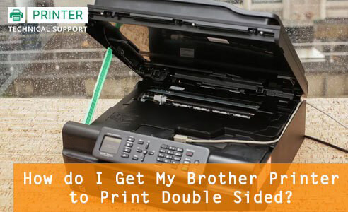 Brother Printer Not Printing Double Sided