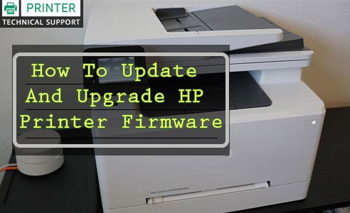upgrade hp printer firmware