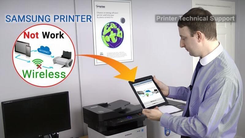 Samsung Printer not Working Wirelessly | Printer Article