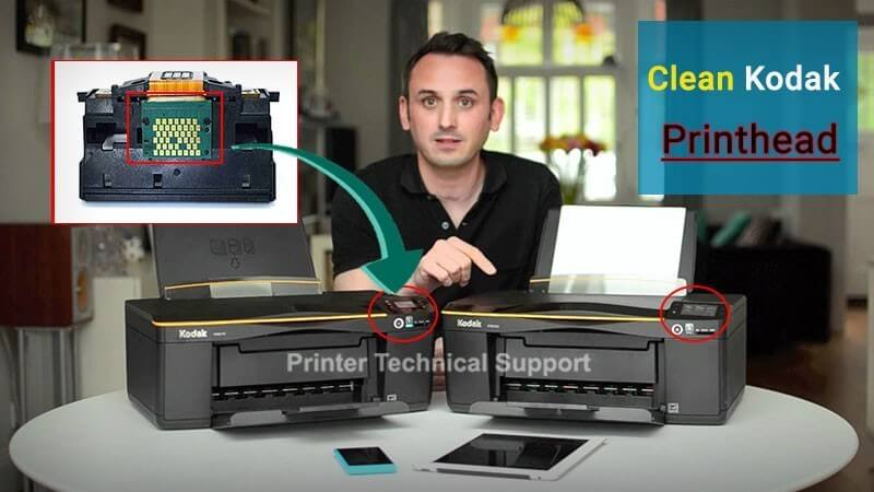 How to Clean Kodak Printhead   Printer Article