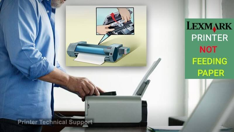 Lexmark Printer not Feeding Paper | Printer Article